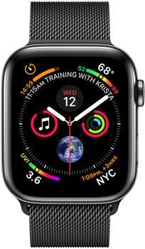 apple-watch-series-4-gps-cellular-40mm-space-schwarz-edelstahl-armband-milanaise-schwarz