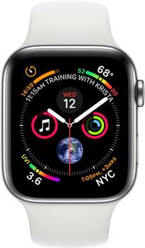 apple-watch-series-4-gps-cellular-44mm-silver-edelstahl-sportarmband-weiss