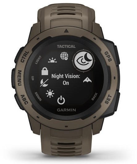 Garmin Instinct Tactical Edition Hellbraun
