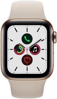 apple-watch-series-5-gps-lte-40mm-edelstahl-gold-sportarmband-beige