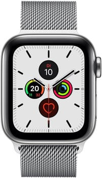 apple-watch-series-5-gps-lte-40mm-edelstahl-silber-milanaise-silber