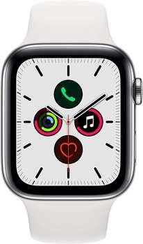 apple-watch-series-5-gps-lte-44mm-edelstahl-silber-sportarmband-weiss