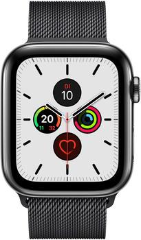 apple-watch-series-5-gps-lte-40mm-edelstahl-space-schwarz-milanaise-schwarz