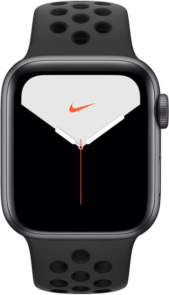 Apple Watch Series 5 Nike+ GPS + LTE 44mm Space Grau Anthrazit/Schwarz
