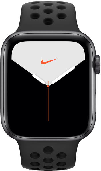 Apple Watch Series 5 Nike+ GPS 44mm Space Grau Anthrazit/Schwarz