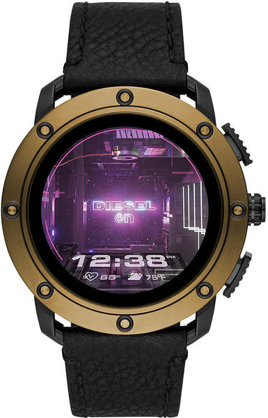 Diesel ON Axial Gold Leather Black