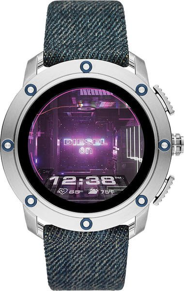 Diesel ON Axial Silver Textile Blue