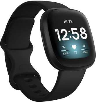 Fitbit Versa 3 Schwarz