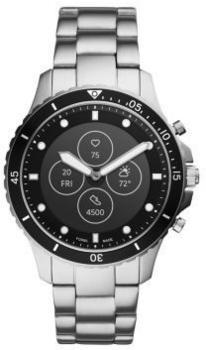 Fossil Hybrid Smartwatch HR FB-01 Edelstahl Silber