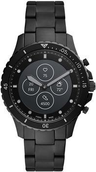 Fossil Hybrid Smartwatch HR FB-01 Edelstahl Schwarz
