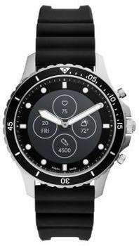 Fossil Hybrid Smartwatch HR FB-01 Silikon Schwarz