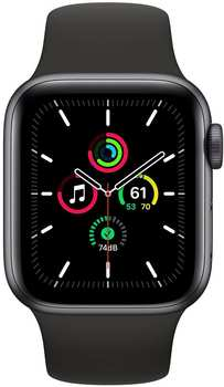 apple-watch-se-space-grau-40mm-sportarmband-schwarz