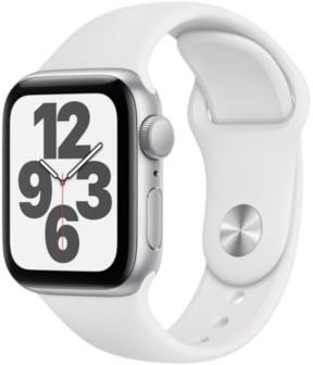 apple-watch-se-silber-40mm-sportarmband-weiss
