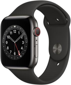 apple-watch-series-6-lte-graphit-edelstahl-44mm-sportarmband-schwarz