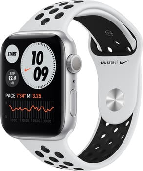 apple-watch-series-6-nike-aluminium-44mm-sportarmband-pure-platinum-black