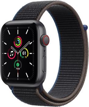 Apple Watch SE LTE Space Grau 44mm Sport Loop Kohlegrau