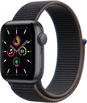 Apple Watch SE LTE Space Grau 40mm Sport Loop Kohlegrau