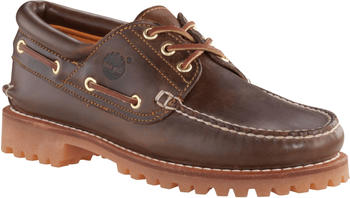 Timberland Authentics 3 Eye Classic Brown Pull Up