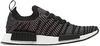 Adidas NMD_R1 STLT Primeknit core black/grey four/solar pink