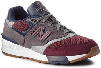 New Balance ML597 burgundy/castlerock/pigment (ML597BGN)