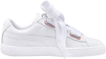 Puma Basket Heart Leather white/rose gold