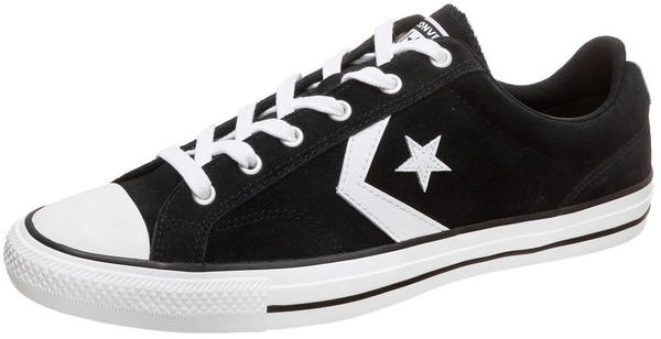 Converse Star Player Suede blackblackwhite Test