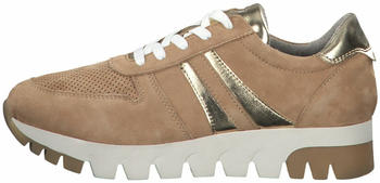 Tamaris Leather Trainers (1-1-23749-24) camel/gold