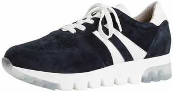 Tamaris Leather Trainers (1-1-23749-24) navy suede