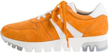 Tamaris Leather Trainers (1-1-23749-24) orange suede