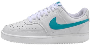 Nike Court Vision Low Women white/oracle aqua/white
