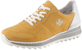 Rieker M6929 yellow/white
