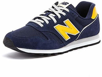 New Balance 373 Modern Classics pigment with team gold