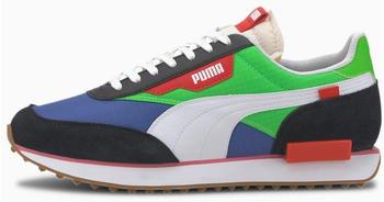 Puma Future Rider Play On puma black/fl green/dazzling b