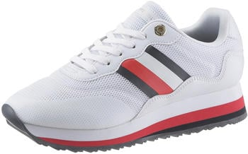 Tommy Hilfiger Retro Signature Trainers (FW0FW04688) white