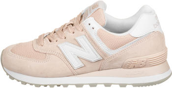 New Balance 574 Women smoked salt with white