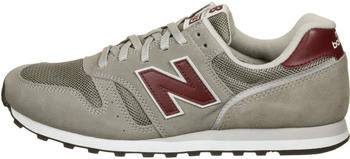 New Balance M 373 marblehead with burgundy