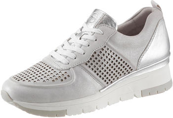 Tamaris Trainers (1-1-23745-24-961) silver/punch