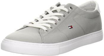 Tommy Hilfiger Lace-Up Textile Sneaker (FM0FM02687) antique silver