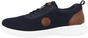 Rieker Low-Top-Sneaker blau/marineblau/braun (B7510-14)