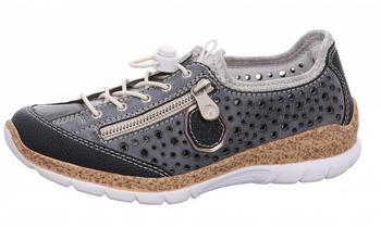 Rieker Low-Top-Sneaker blau/weiß (N42P6-14)