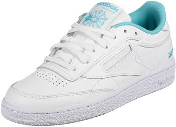 Reebok Club C 85 Women white/white/neon blue