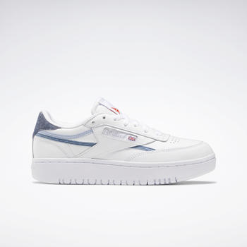Reebok Club C Double Cloud White/Cold Grey 2/Dynamic Red