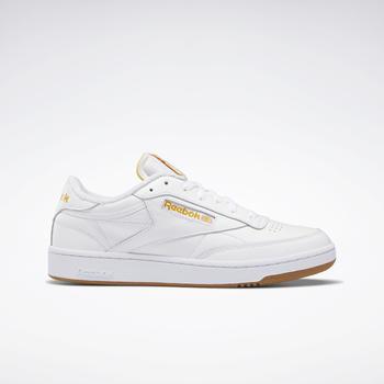 Reebok Club C 85 White/Pale Yellow/Bright Ochre