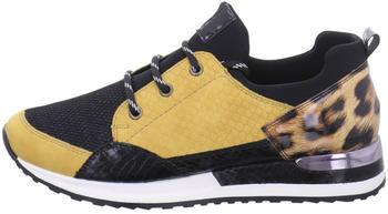 Remonte Dorndorf Low-Top-Sneaker schwarz/gelb/orange/bunt/natur (R2503-68)