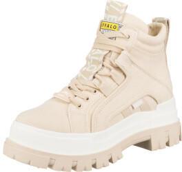 Buffalo Boots Buffalo Aspha NC Mid Bootie Flat Canvas Women beige