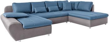 sit&more Bandos XL 334cm hellgrau/pacific (52027639)