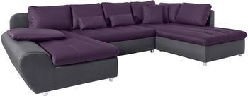 sit&more Bandos XL 334cm anthrazit/pflaume (20548040)