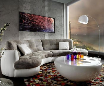 delife-sofa-napoli-300x95cm-weiss-hellgrau-mit-kissen