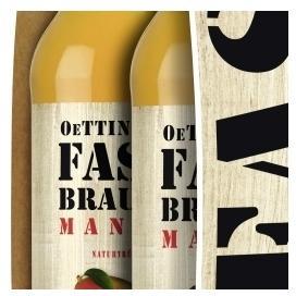 Oettinger Fassbrause Mango naturtrüb