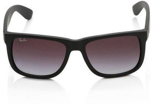 Ray-Ban Justin RB4165 601/8G (black rubber/gradient grey)